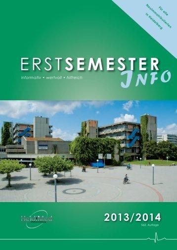 ErStSEMESTER - Fachschaft Medizin Universität Heidelberg