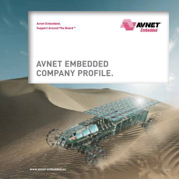 AVNET EMBEDDED COMPANY PROFILE.