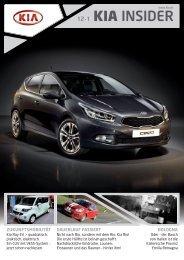 Kia Insider Magazin - Kia Motors