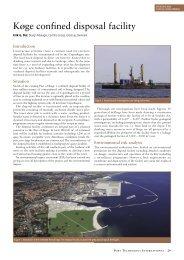 Køge confined disposal facility - Port Technology International