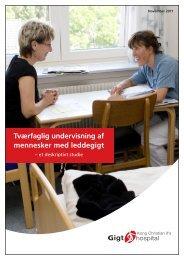 Tværfaglig undervisning af mennesker med leddegigt - Gigtforeningen