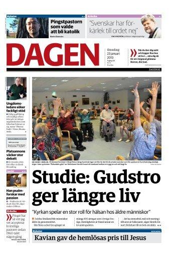 """Svenskar har för- kärlek till ordet nej"""" - Dagen"""