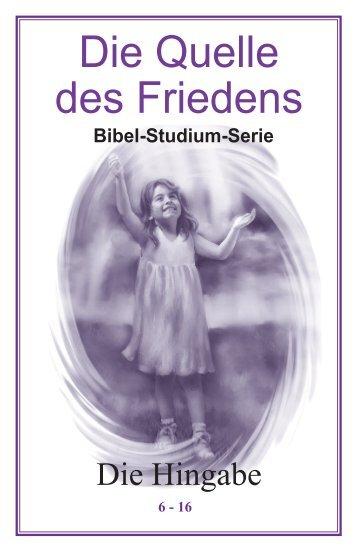 Lektion 6 Deutsch - Bible-lessons.org