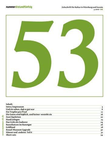 werkgruppen und installationen 12. 2. - Nummer