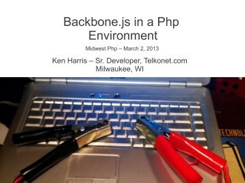 Backbone.js in a Php Environment