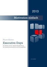 2013 Motivation einfach Executive Days