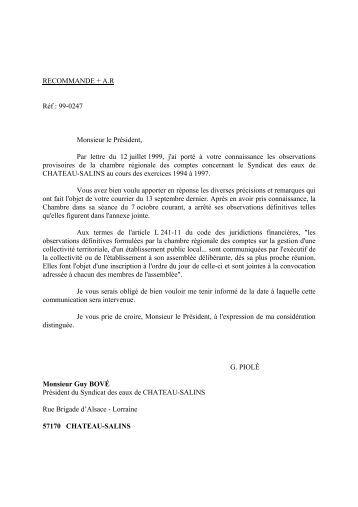 Rapport d'observations définitives (PDF, 106,08 ... - Cour des comptes