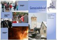 2011 - Februar Gemeindebrief.pub - Evangelische ...