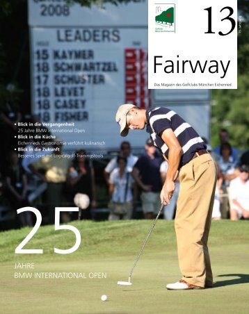 Download Fairway 13 als PDF - Golfclub München Eichenried
