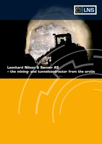 Leonhard Nilsen & Sønner AS – the mining- and tunnelcontractor ...
