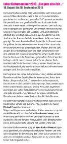 Das Programm - Leher Kultursommers 2013 - Page 4