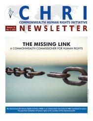 chogm 2013 [pdf] - Commonwealth Human Rights Initiative
