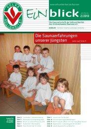 Ausgabe 2/13 - Volkssolidarität Bundesverband e.V.