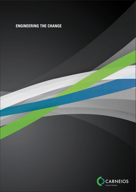 Unser Flyer im neuen Design - Carneios GmbH - Unternehmen