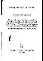 und Einleitung (600 KB) - Herbert Utz Verlag GmbH