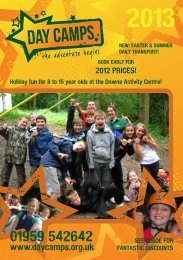 Brochure - Day Camps Ltd