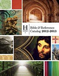 Bible & Reference Catalog 2012-2013 - B&H Publishing Group