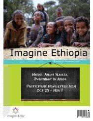 The Imagine Ethiopia 2011 Newsletter Part IV - imagine1day blog