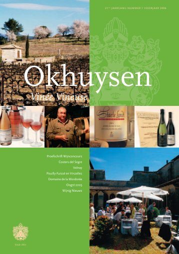 Proefschrift Wijnconcours - Okhuysen