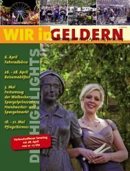 dasStadtMagazin Nr.2 | April 2013 | Mai2013 6 ... - WIR in Geldern