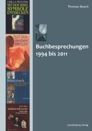 Buchbesprechungen 1994 bis 2011 - Thomas Noack