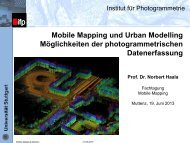 Mobile Mapping und Urban Modeling - 3dgi.ch