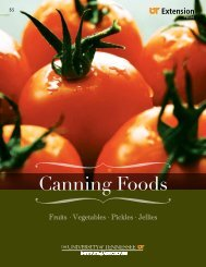 Canning Foods