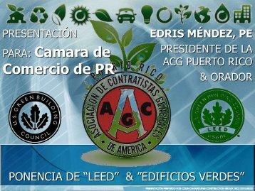 Ing. Edris Méndez - Cámara de Comercio de Puerto Rico