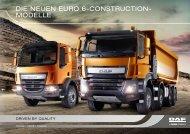 DIE NEUEN EURO 6-CONSTRUCTION- MODELLE - Tschann