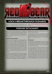 Download Loza's Breakthrough Scenario... - Flames of War
