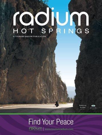 Download Magazine - Radium Hot Springs Chamber of Commerce