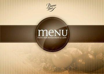 Pobierz menu w PDF - Piano Bar