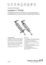 Liquiphant T FTL20H - surplusselect.de
