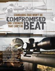 sTANDARDs THAT WON'T BE AND sTRENGTH THAT ... - Blackrecon