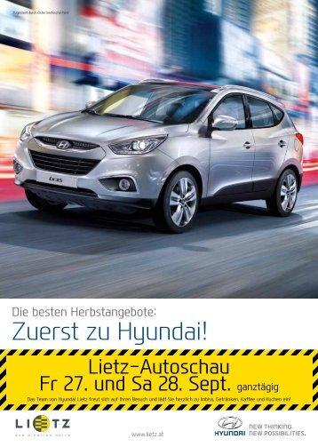 Zuerst zu Hyundai! - Lietz