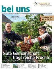 Gute Gemeinschaft trägt reiche Früchte - Vivawest Wohnen GmbH