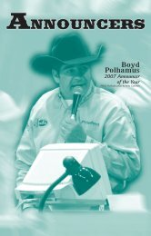 01. Intro Section 1-16 - Professional Rodeo Cowboys Association