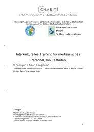 Interkulturelles Training für medizinisches Personal, ein Leitfaden