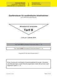 Tarif B (10301 kB, PDF) - Steuern St. Gallen