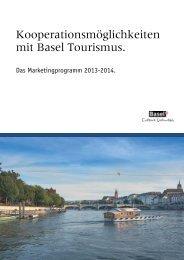 Kooperationsmöglichkeiten mit Basel Tourismus. - Basel.com