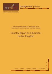 Country Report on Education - Centre for Ethnicity and Racism Studies