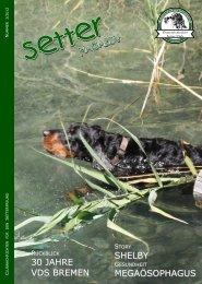 Setter Magazin 2012 - 3, 1