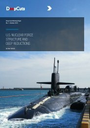us nuclear force structure and deep reductions - Front page of ...