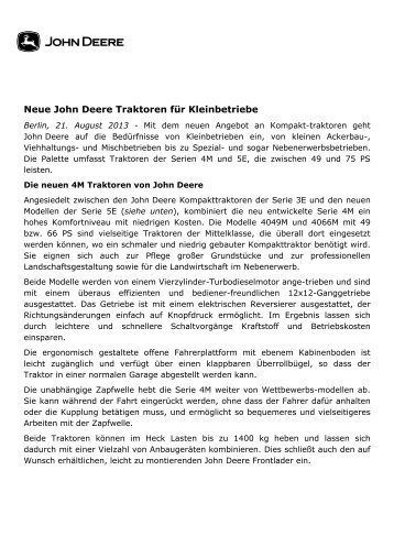 2013_08_21_Neue John Deere Traktoren für Kleinbetriebe_DE