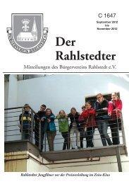 Der Rahlstedter - Soeth-Verlag