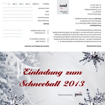 Schneeball 2013 - Familienunternehmen