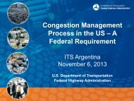 Congestion Management Process: A Guidebook
