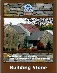 RRBSI Building Stone Brochure - Frederick Block, Brick and Stone