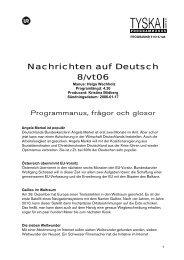 Nachrichten auf Deutsch 8/vt06 - Ur