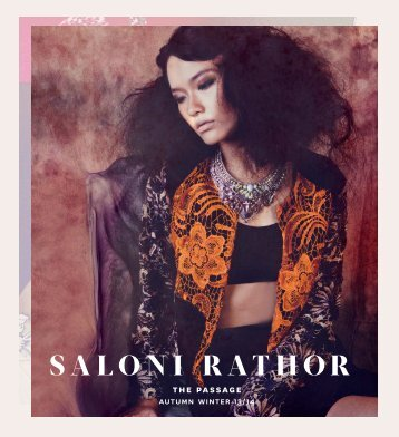 Download full lookbook - Saloni Rathor